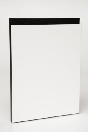 Grebslåge hvid:sort eg
